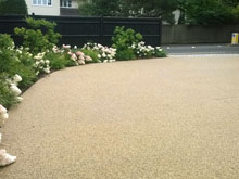 Resin Bound Autumn Bronze Gravel
