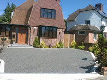 Resin Bound Storm Grey Gravel